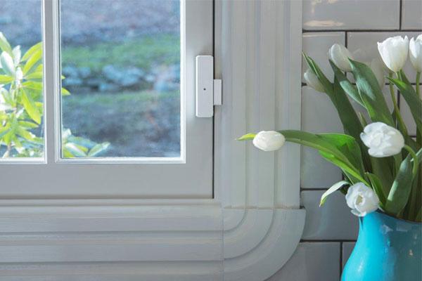 دزدگیر درب آپارتمان با قبلیت اتصال روی پنجره