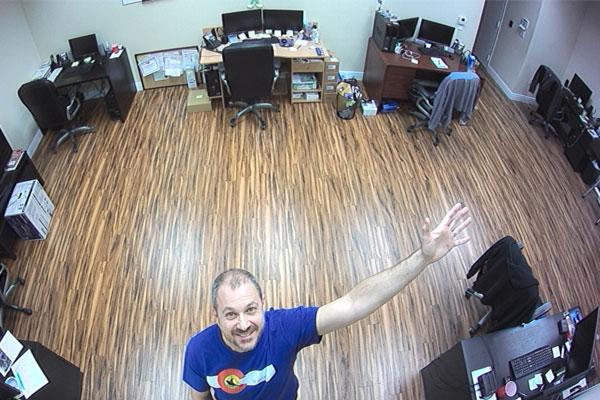 معرفی کاربرد دوربین ۳۶۰ درجه سقفی