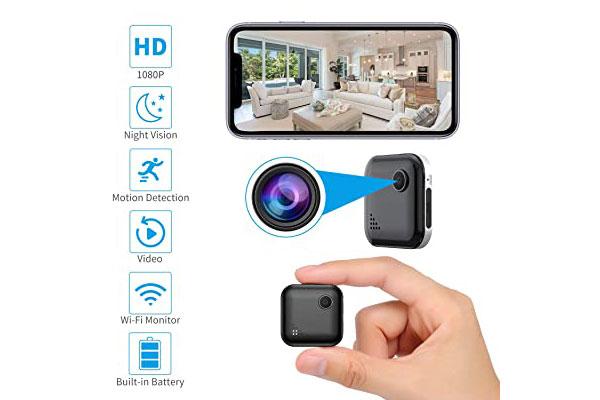 نصب دوربین مخفی کوچک در منزل برای مراقبت از فرزندان